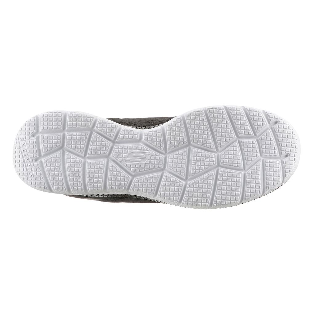 Skechers Sneaker »BOUNTIFUL - QUICK PATH«, mit gepolsterter Innensohle