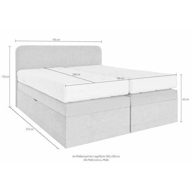 Westfalia Schlafkomfort Boxspringbett