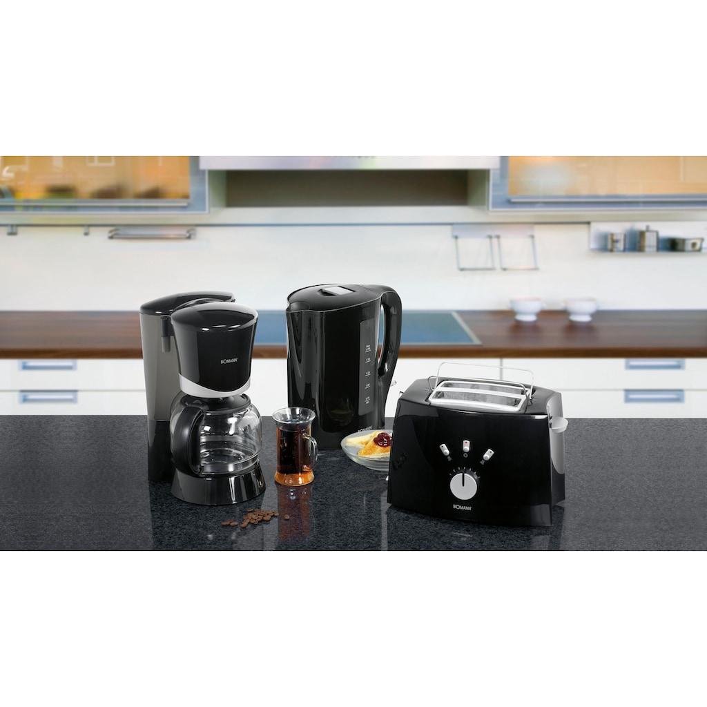 BOMANN Frühstücks-Set »FS 1500 CB N«