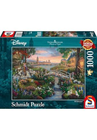 """Schmidt Spiele Puzzle """"Disney, 101 Dalmatiner"""" kaufen"""