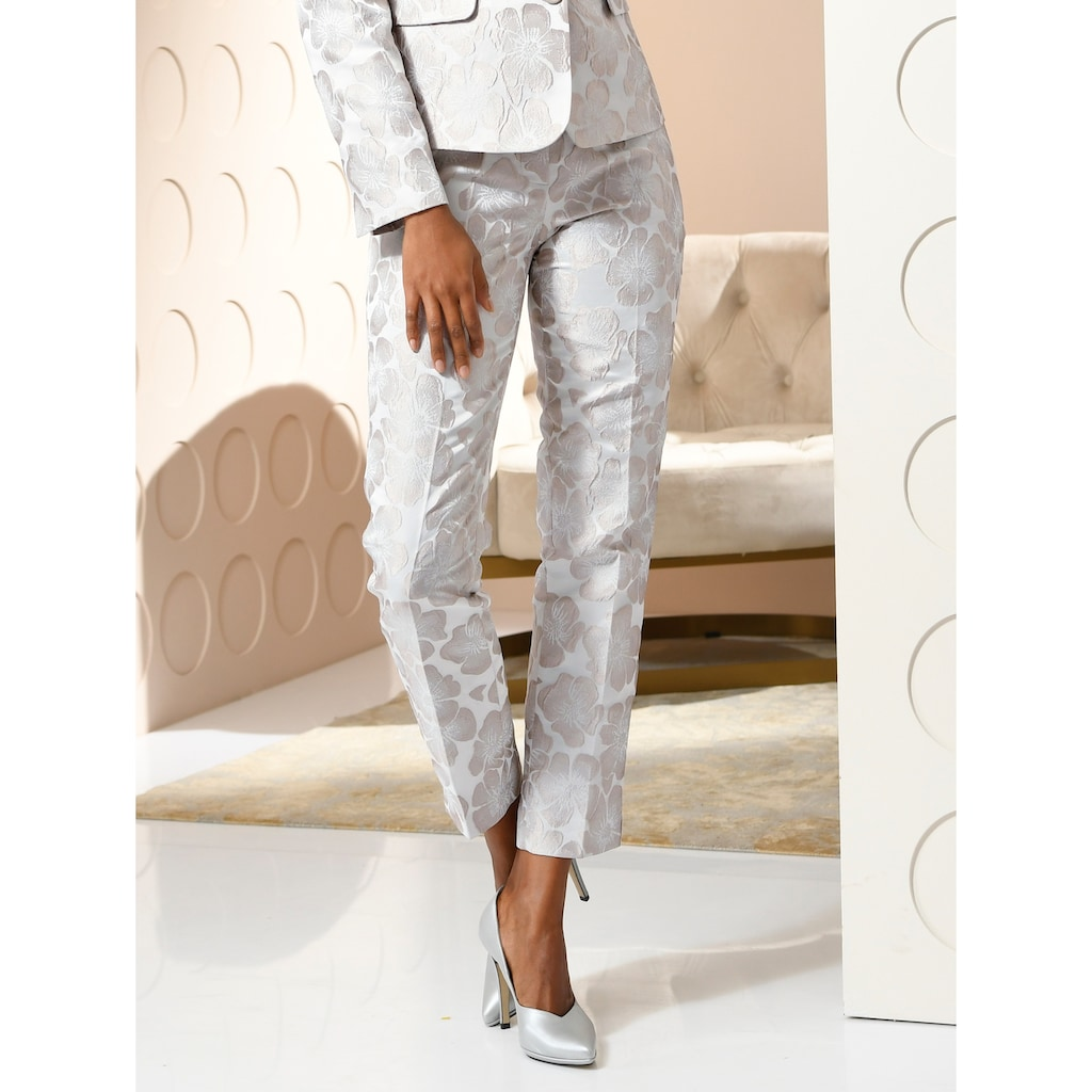 Alba Moda Hose aus hochwertiger Jaquardware