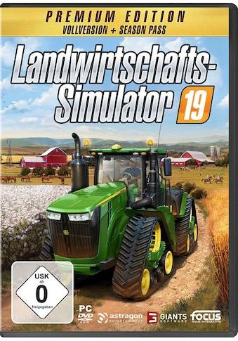Astragon Spiel »Landwirtschafts-Simulator 19: Premium Edition«, PC kaufen