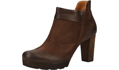 Paul Green High-Heel-Stiefelette »Veloursleder« kaufen