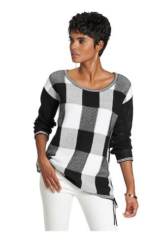création L Pullover aus verschiedenen Strick - Strukturen kaufen