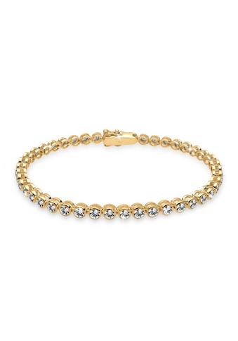 Elli Armband »Tennis Armband mit Swarovski Kristalle Silber« kaufen