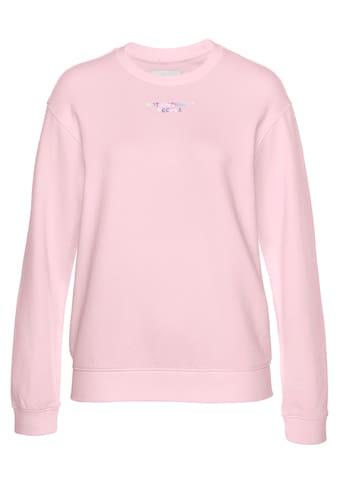 Replay Sweatshirt, lässiger Sweater mit großem Logo Print auf der Rückseite kaufen