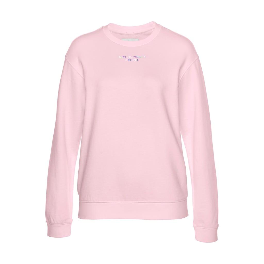 Replay Sweatshirt, lässiger Sweater mit großem Logo Print auf der Rückseite