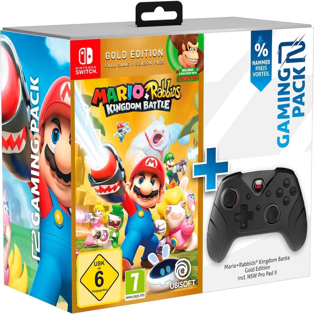 UBISOFT Spiel »Mario&Rabbids«, Nintendo Switch, inkl. Gamepad Pro