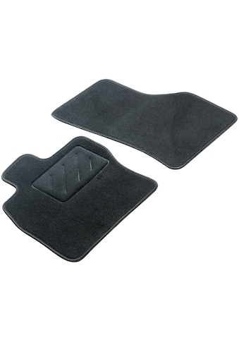 WALSER Passform-Fußmatten »Standard«, (2 St.), für VW T5 Caravelle (04/2016-08/2015),... kaufen