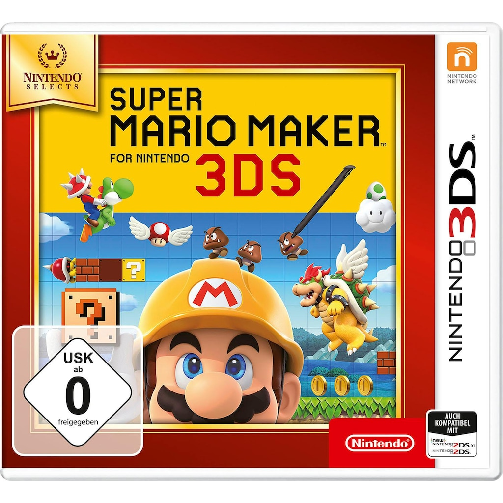 Nintendo 3DS Spiel »Super Mario Maker for Nintendo 3DS«, Nintendo 3DS, Nintendo Selects