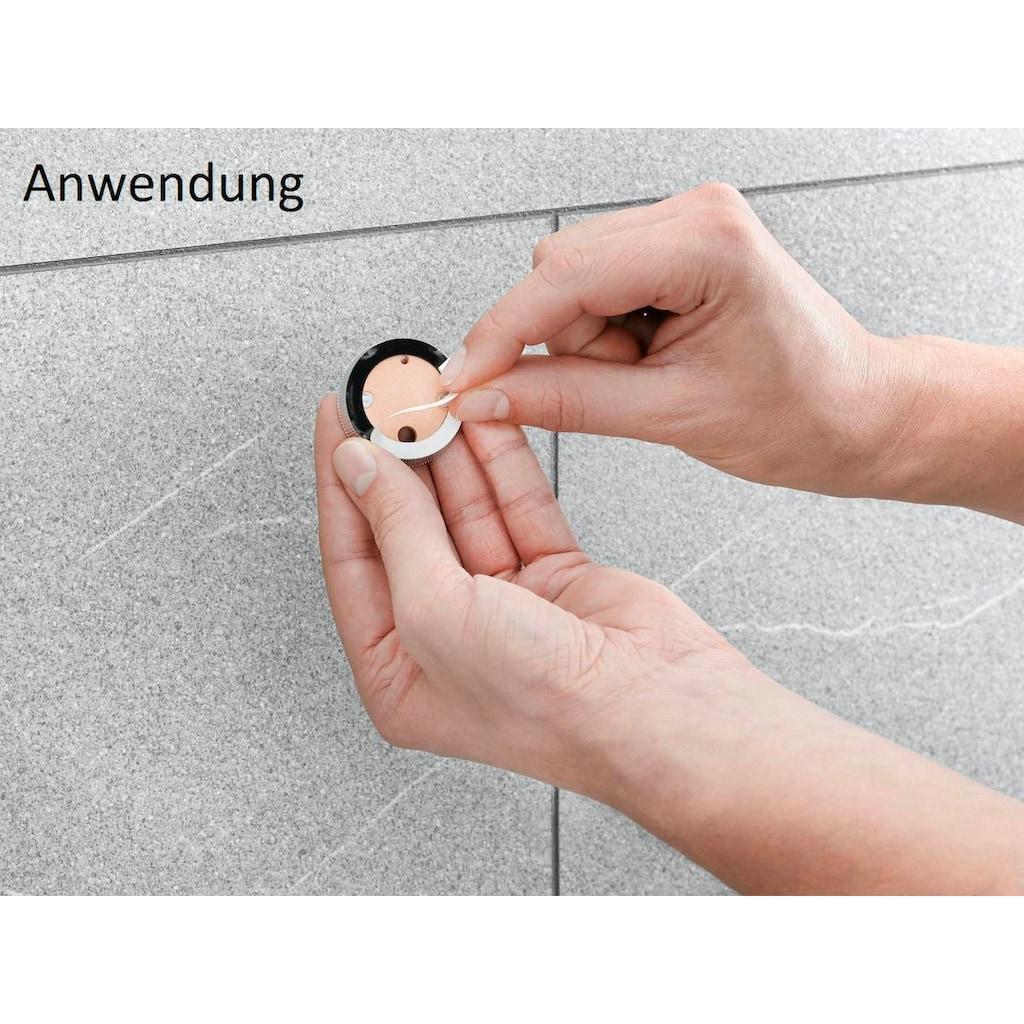 Nie wieder bohren Handtuchhalter »Pro 060«, Edelstahloptik