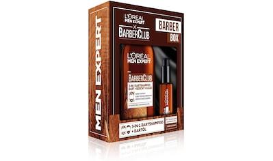 L'ORÉAL PARIS MEN EXPERT Bartpflege-Set »Barber Club Box«, (2 tlg.), Bartreinigung &... kaufen