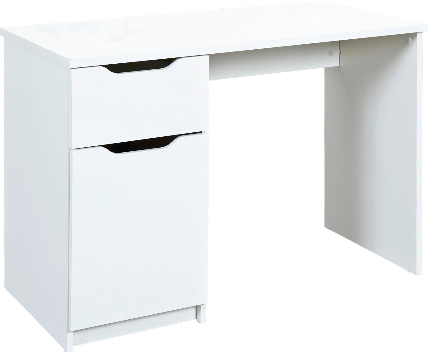 Home affaire Schreibtisch Westphalen in weiß oder sonoma eiche