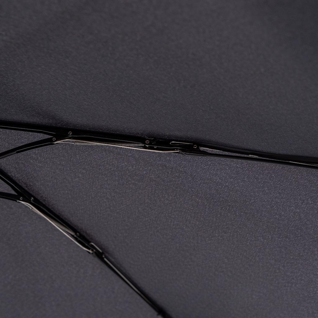 Knirps® Taschenregenschirm »Knirps U.200 Ultra Light Duo Black«