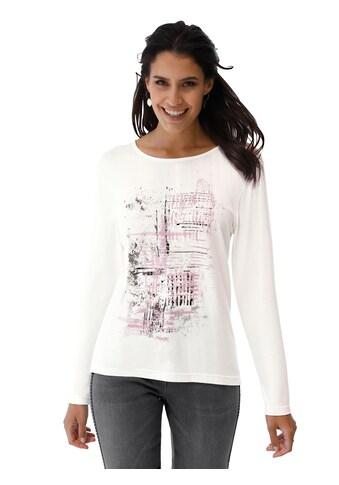 Classic Inspirationen Shirt mit schimmerndem, platziertem Druck kaufen