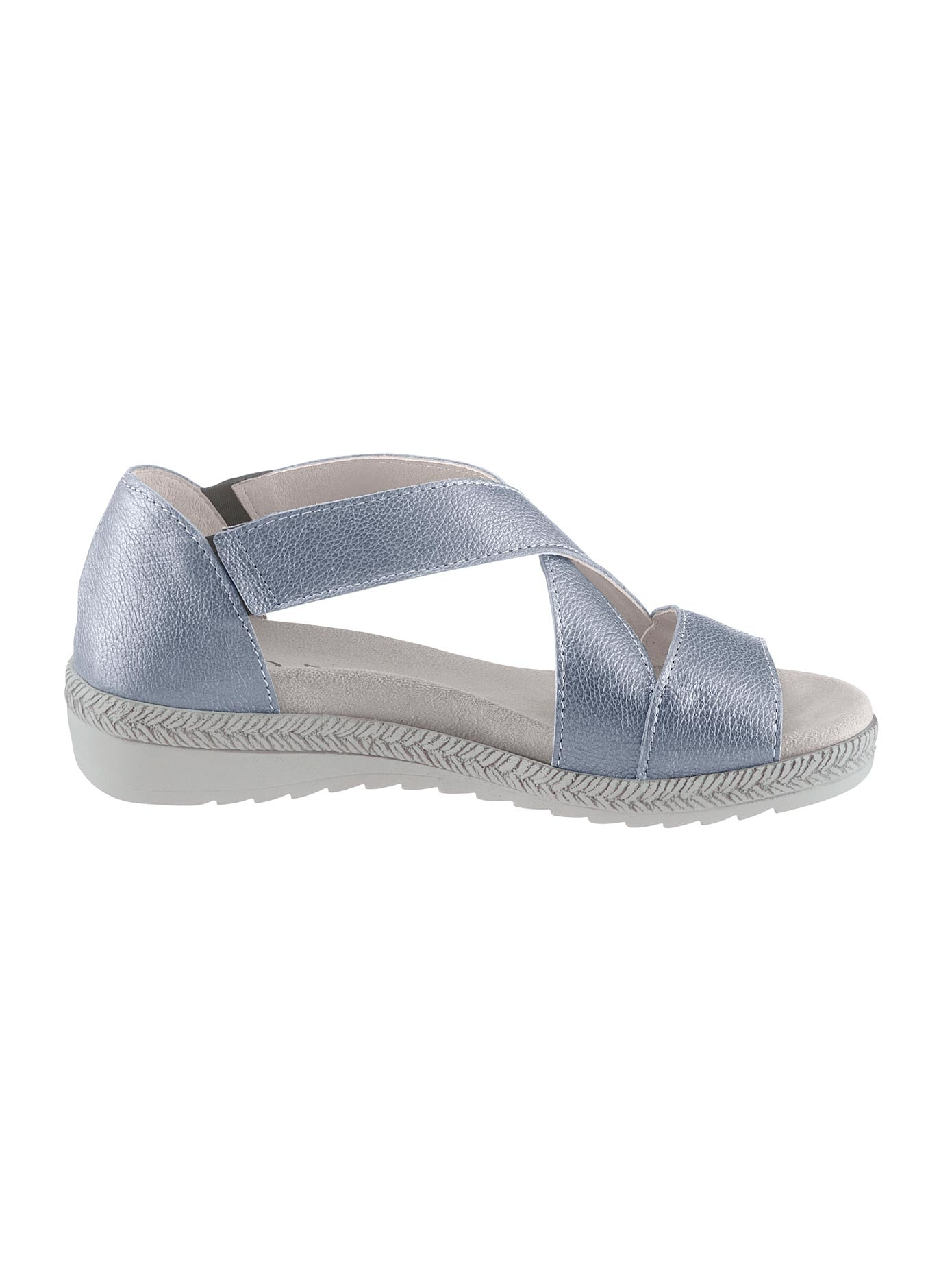 Aco Sandalette blau Damen Sandaletten Sandalen