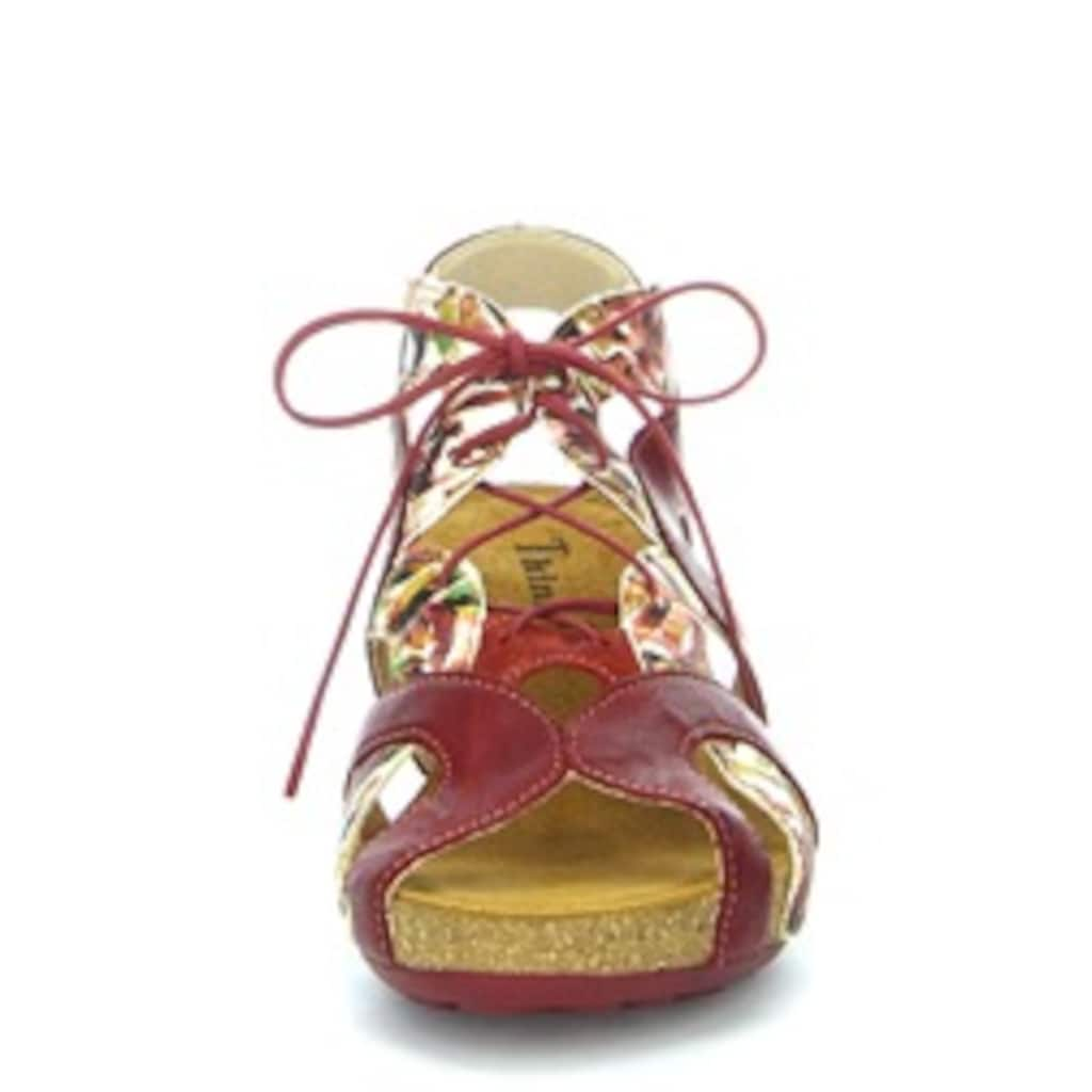 Think! Sandalette »Traudi«, in extravaganter Optik