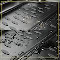 WALSER Passform-Fußmatten »XTR«, Skoda, Octavia, Kombi-Schrägheck, (4 St., 2 Vordermatten, 2 Rückmatten), für Skoda Octavia III (5E) BJ 11/2012 - heute