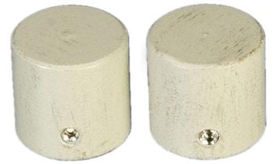Liedeco Gardinenstangen-Endstück »Endkappe«, für Gardinenstangen Ø 16 mm kaufen