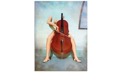 Artland Glasbild »Cello«, Instrumente, (1 St.) kaufen