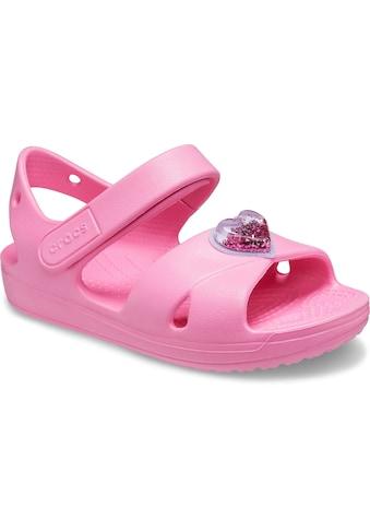 Crocs Sandale »Classic Cross Strap Charm Sandal«, mit Klettverschluss kaufen