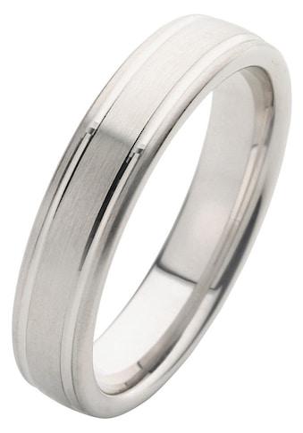 Firetti Trauring mit Gravur »5,0 mm, längs gebürstet, Diamantschnitt« kaufen