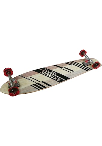 L.A. Sports Longboard »Longboard Pintail Cruiser Single Kicktail Board« kaufen