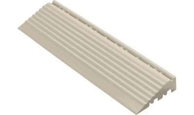 FLORCO Kantenleisten Seitenteil grau mit Öse, 30 cm kaufen