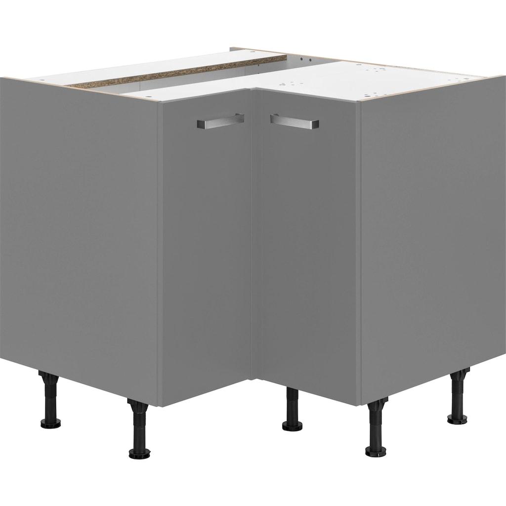 OPTIFIT Eckunterschrank »Parma«, Breite 90 x 90 cm