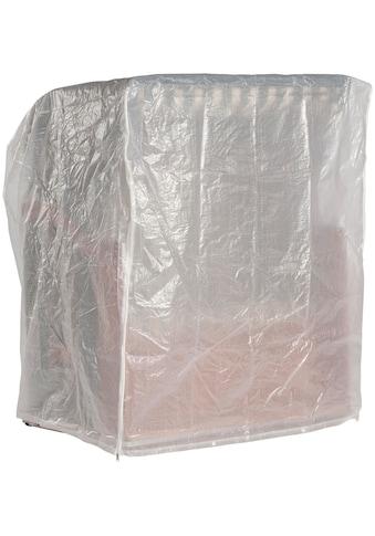 Sonnen Partner Strandkorb-Schutzhülle, für Strandkörbe, BxLxH: 150x110x156cm, transparent kaufen