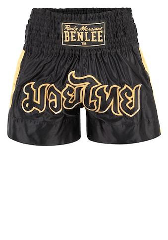Benlee Rocky Marciano Shorts mit wertiger Stickerei kaufen