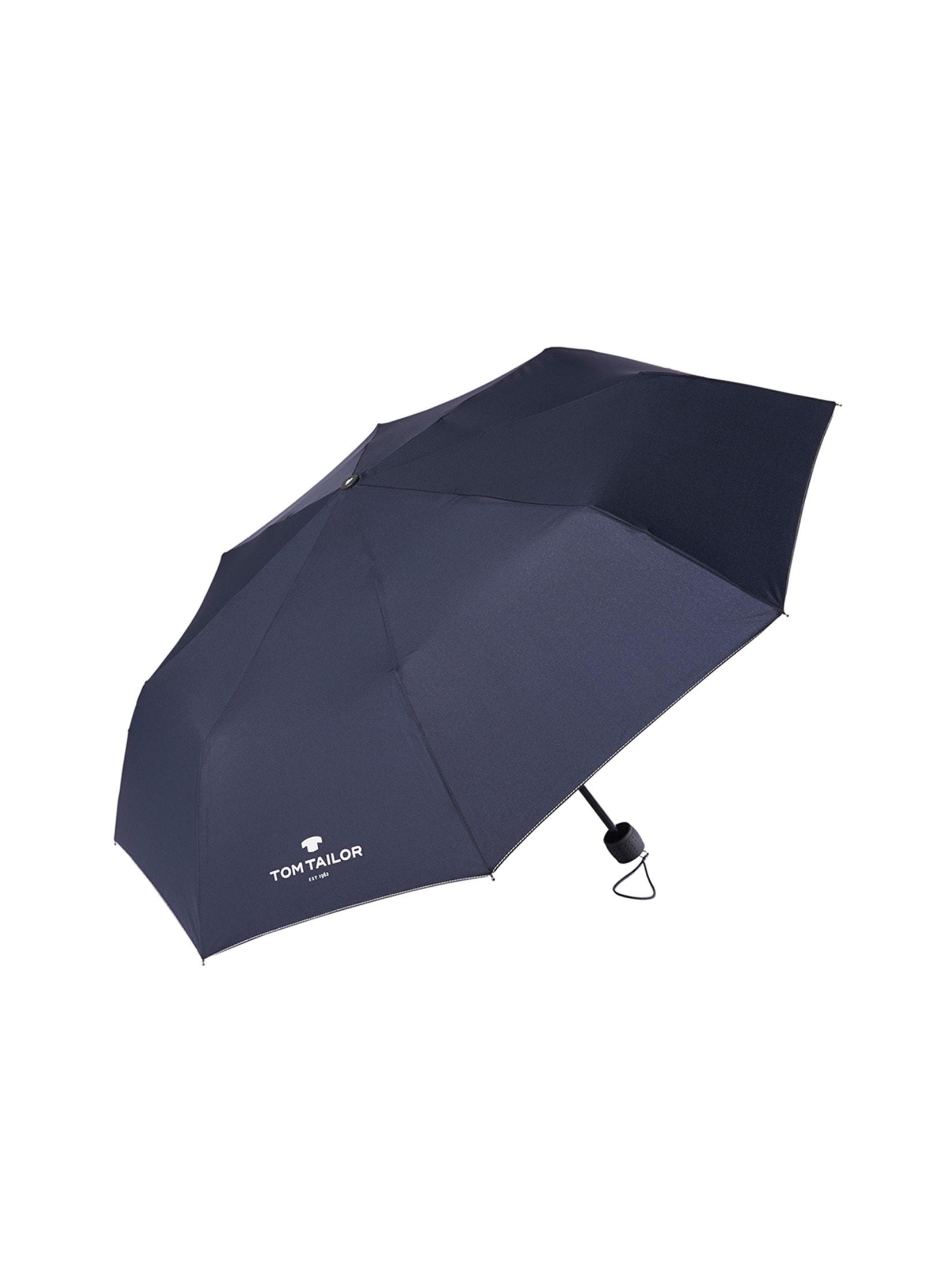 TOM TAILOR Taschenregenschirm Extra kleiner Regenschirm blau Taschenschirme Regenschirme Accessoires Unisex