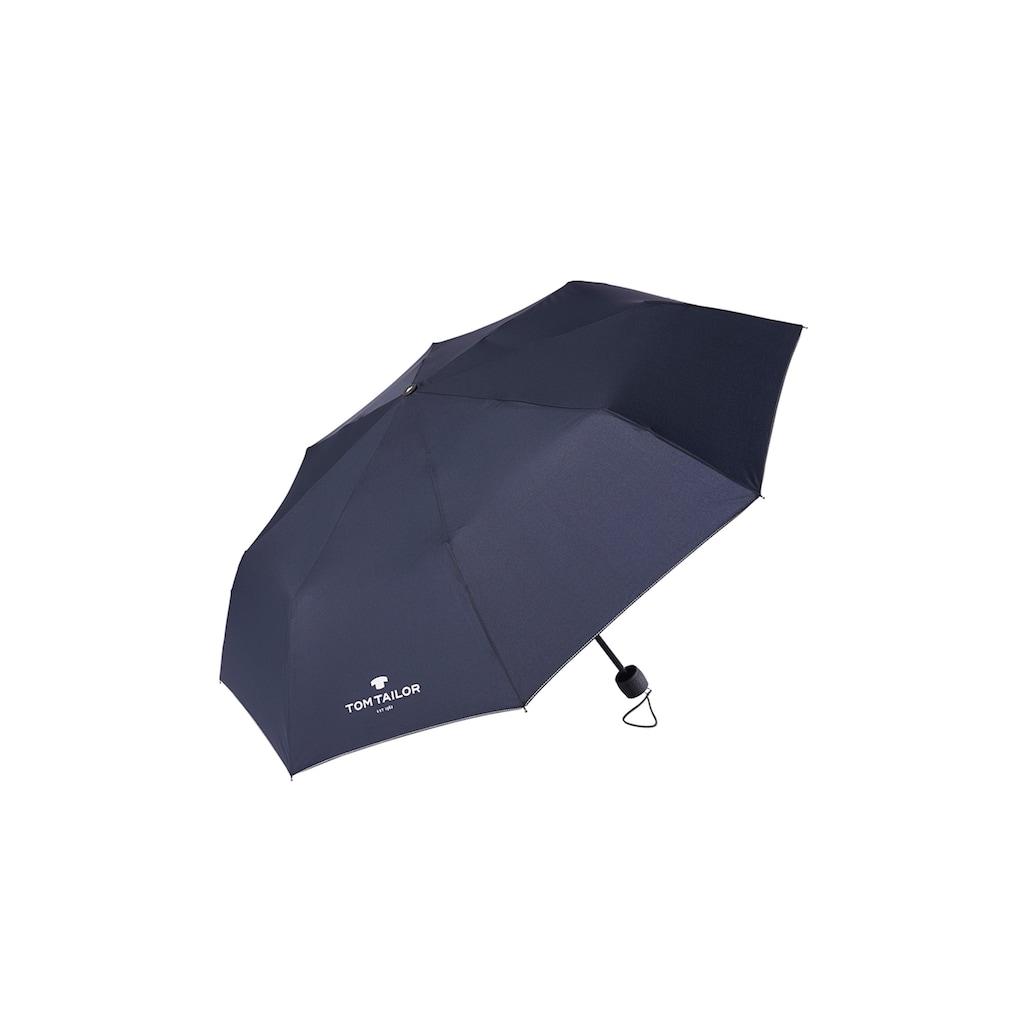 TOM TAILOR Taschenregenschirm »Extra kleiner Regenschirm«
