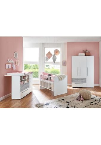 arthur berndt Babyzimmer-Komplettset »Rabia«, (Set, 3 St.), Made in Germany; mit... kaufen