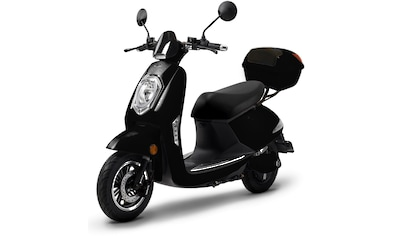 ELEKTROROLLER FUTURA E - Motorroller »Elektroroller Futura, Elettrico Li«, 1200 Watt, 45 km/h (Set, 2 - tlg., mit Topcase) kaufen