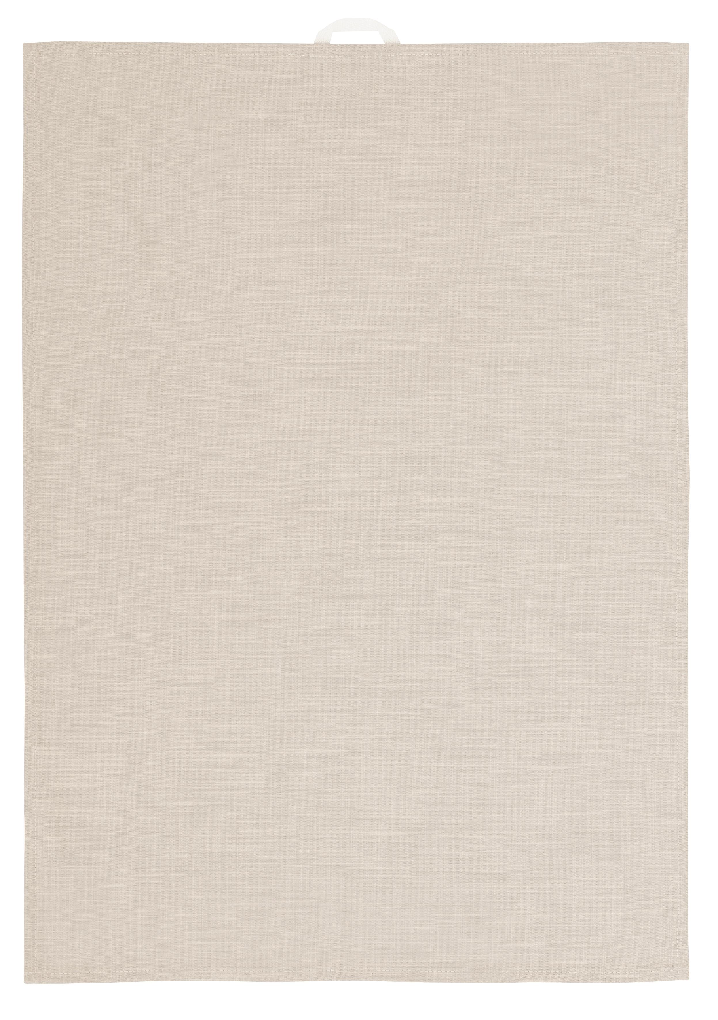 OTTO products Geschirrtuch Anjella, (Set, 4 tlg.), aus Bio-Baumwolle beige Geschirrtücher Küchenhelfer Haushaltswaren