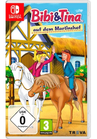 Kiddinx Spiel »Bibi Und Tina Auf Dem Martinshof«, Nintendo Switch, Software Pyramide kaufen