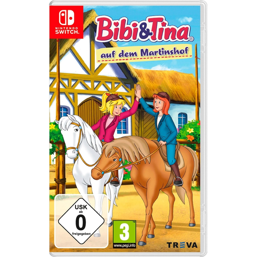 Kiddinx Spiel »Bibi Und Tina Auf Dem Martinshof«, Nintendo Switch, Software Pyramide