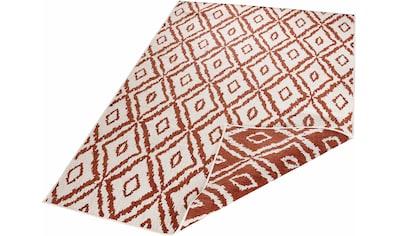 bougari Teppich »Rio«, rechteckig, 5 mm Höhe, In- und Outdoor geeignet, Wendeteppich, Wohnzimmer kaufen