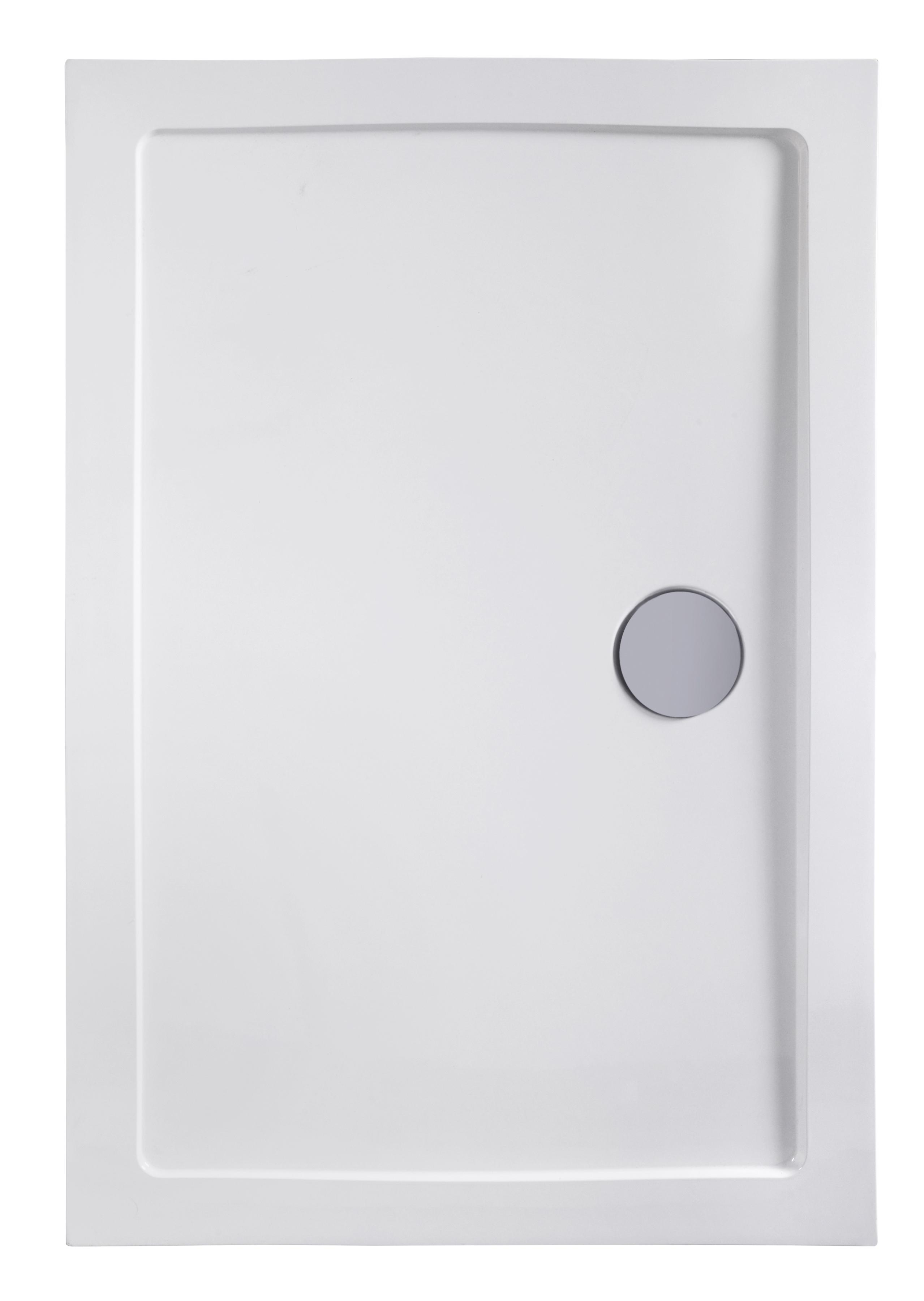 welltime Duschwanne SMC, BxT: 120 x 90 cm weiß Duschwannen Duschen Bad Sanitär