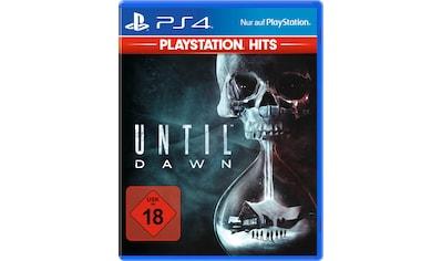 Until Dawn PlayStation 4 kaufen