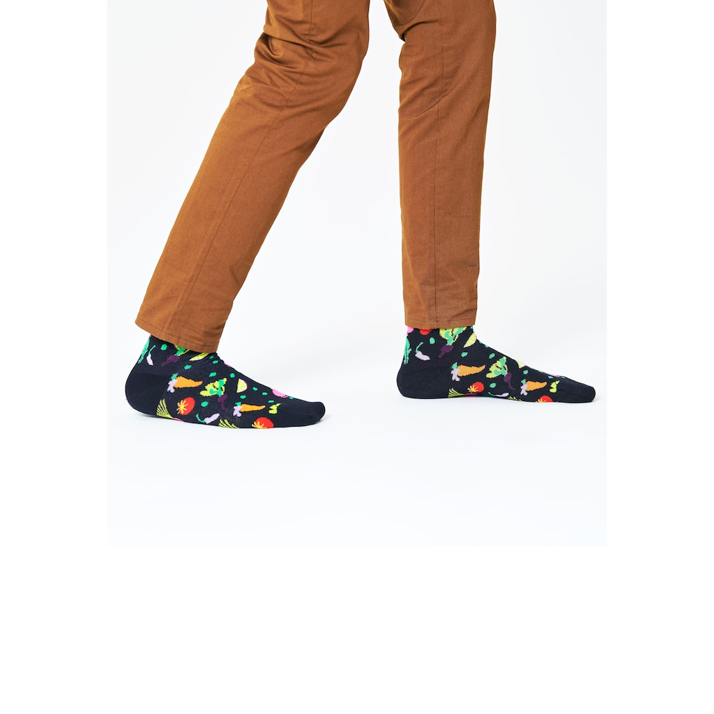 Happy Socks Socken »Veggie«, mit lustigen Gemüse Motiven