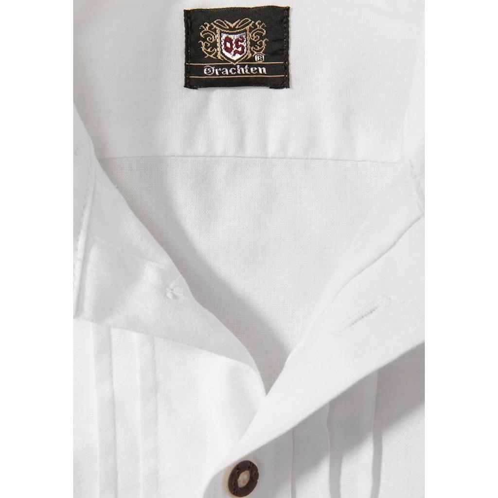 OS-Trachten Trachtenhemd, Kinder mit Biesen