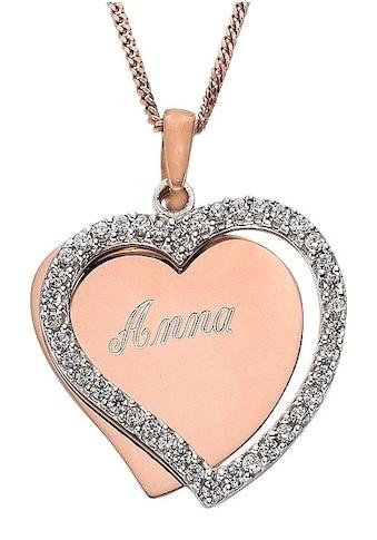 Firetti Kette mit Anhänger »Herz, mit gratis Gravur« kaufen