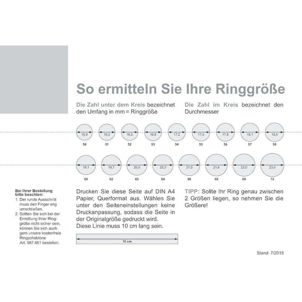 Firetti Trauring mit Gravur »glanz, sandmatt, Diamantschnitt, 3,5 mm breit«, Made in Germany, wahlweise mit oder ohne Brillant
