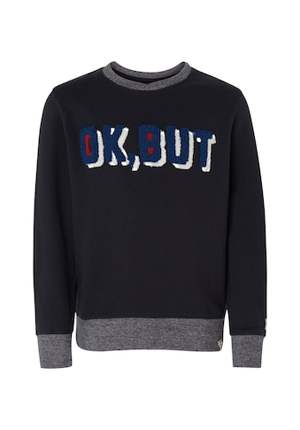 TOM TAILOR Sweatshirt »Strukturierter Sweater« kaufen