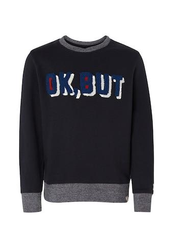 TOM TAILOR Sweatshirt »Strukturierter Sweater« kaufen