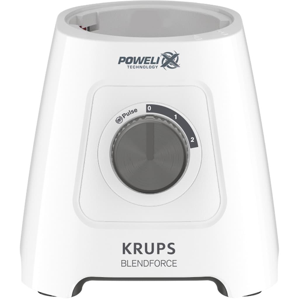 Krups Standmixer KB42Q1 Blendforce 2in1, 600 Watt