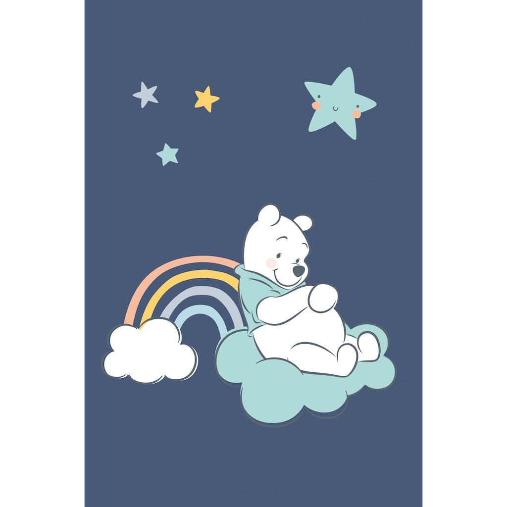 Herding Krabbeldecke »Disney`s Winnie Pooh, blau«