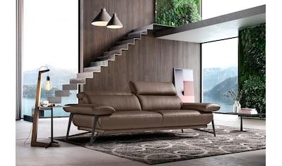 Egoitaliano Polstergarnitur »Anais«, Set: bestehend aus Sofa und Ottomane kaufen